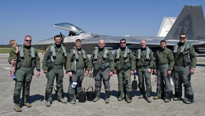 Raptors return from Rapid Raptor deployment