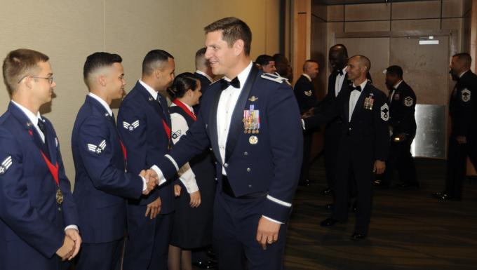 Airman Leadership School Class 16-5 graduates