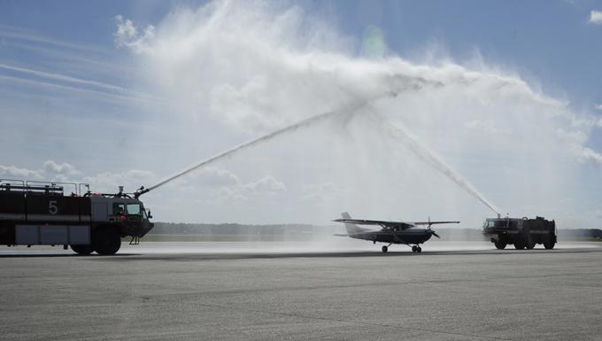 Civil Air Patrol Transfer of Authority ceremony