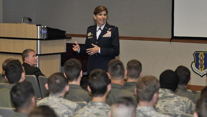 NORAD and USNORTHCOM commander mentors Tyndall Airmen