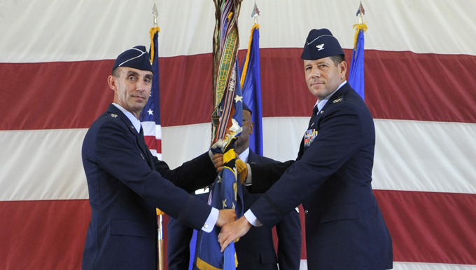 325th Fighter Wing changes command