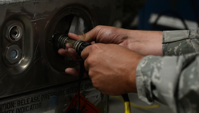 "The Airmen of the 325th Maintenance Squadron Munitions Flight, more commonly known as ""Ammo,"" operate with a high level of attention-to-detail and extreme care to handle, store, transport, and arm and disarm weapon systems to ensure the safety of Airmen and the success of their missions."