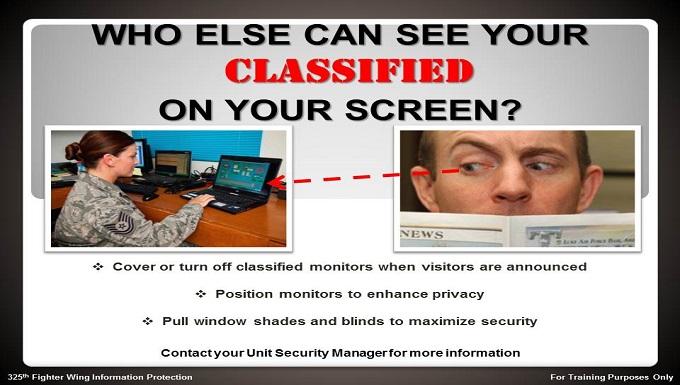 CCRI Classified Screen
