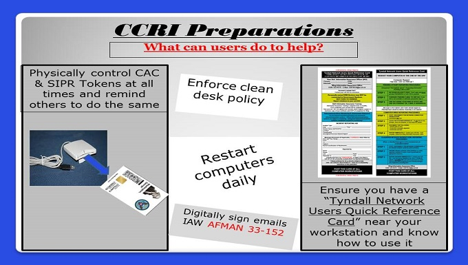 CCRI Preparations